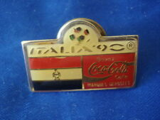 PINS COUPE DU MONDE FOOTBALL ITALIE 90 DRAPEAU EGYPTIEN EGYPTE FOOT