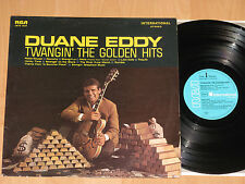 LP DUANE EDDY  TWANGIN' THE GOLDEN HITS - REBEL ROUSER -TEQUILA - RAUNCHY