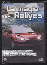 NEUF DVD LA MAGIE DES RALLYES SOUS BLISTER COURSES SPORT AUTOMOBILE PILOTAGE