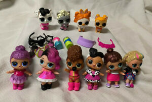 """Lot of Lol 3"""" Dolls, Animals And Accessories"""