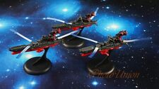 Space Battleship Yamato Star Blazers Cosmo Fleet Set 3 Figure Model A620 Kx3