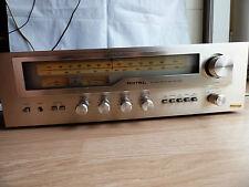 Vintage Rotel receptor RX-503 AM/FM Sintonizador Amplificador indicadores análogo de phono