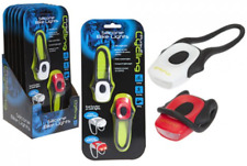 LED Quick Fix Bike Light Set - Front and Rear Silicone Lights