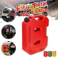 2.6 Gallon Fuel Pack Spare Container Gasoline Jerry Can Tank Off Road For Jeep