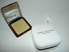 Ltd Ed Zipper Case MARC JACOBS Solid Perfume Compact Mirror Case 4g 0.14oz NEW!