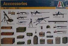 Italeri 1/35 scale kit #407, Accessories.
