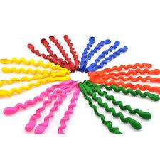 Wedding Decor Mixed Spiral Latex Balloons Party Birthday Kids Toy Gift 10PCS