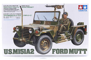 Tamiya 1/35 U.S. M151A2 Ford Mutt Scaled Plastic Model Kit