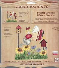 WATERING FLOWERS - DECOR ACCENTS WATER DECALS