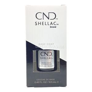 CND Shellac Base Coat - 12.5 ml / .42 oz - NIB - AUTHENTIC