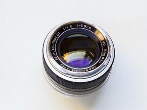 Re Auto Topcor 5.8cm 58mm f1.8 Tokyo Kogaku Topcon Exakta Lens