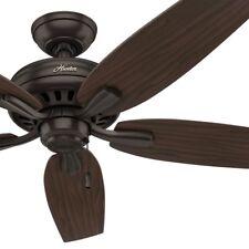 """52"""" Hunter Fan Premier Bronze Ceiling Fan with Roasted Walnut Reversible Blades"""