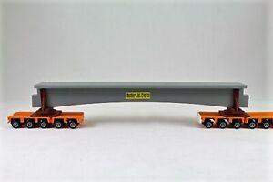 """L BAUER LKW 1024 CONCRETE BRIDGE FORM FOR TRAILER/TRAIN LOAD FREIGHT 1:87 """"NEW"""""""