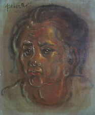 I WAYAN PATERA (XX) RARE Original oil Elder Bedulu Gianjar Bali Indonesia 1970