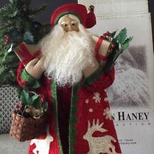 Lynn Haney ~ Santa of Reindeer Cottage ~ 2007 Signed / style #14107