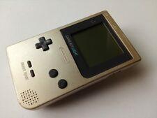 Nintendo Gameboy Light Gold color console MGB-101 /Backlight OK-S2-