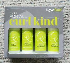 Deva Curl Kit For All Curl Kind On The Go Travel Size Kit 3oz Bottles