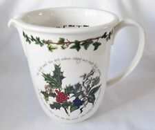 UNUSED Portmeirion The Holly and The Ivy Measuring Jug - NEW & BOXED