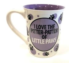 Purple Cat Mom It's All About The Meow 16oz. Over Sized Coffee Cup Laurie Vessey