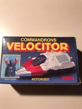 4 Commandrons McDonald's 1984 Transformer Toys Set
