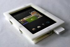 Kindle Fire HD 6 Anti-Theft White Wall Mount Kit for Kiosk, POS, Store, Show