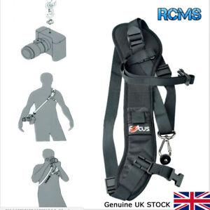 Focus F-1 Quick Rapid Single Shoulder Sling Belt Strap for Camera DSLR UK STOCK