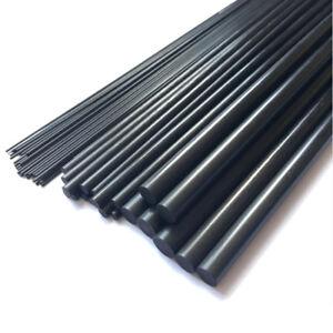 Carbon Stäbe 1mm-18mm / CFK Fiber Rods Kohlefaser Rundstab 10-50cm Stab