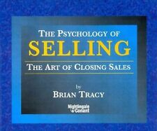 The Psychology of Selling by Tracy Brian (CD-Audio, 1995)