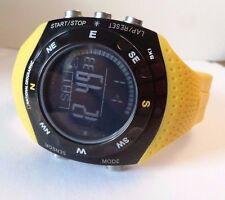 National Geographic Herren Ski Master Watch Gelb Band Kompass & mehr NG 702 gksy