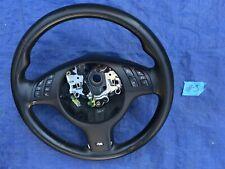 BMW E39 E46 E38 M3 M5 Multifunction Leather MTech Sport Steering Wheel 01-06 #3