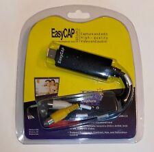 EasyCAP USB 2.0 Cable Adapter Audio Video Grabber Capture Card Windows 7 8