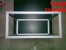 Aluminum T-slot extruded profile 30x30-8  Table or Box frame size 800x660x360mm
