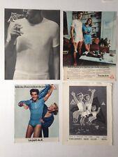 LOT PUBLICITES ANNEES 50-70 SPECIAL JIL SOUS VETEMENTS // 1 ILL. ALAIN CORNIC