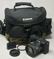 Canon EOS M3 24.2MP Digital SLR Camera - Black (Kit w/ EF-M 18-55mm Lens)