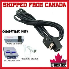 Extension Cable Cord For Nintendo Wii / NES Classic Edition / Super SNES Classic