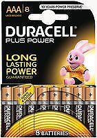 BATTERY PLUS POWER AAA 8PK DURALOCK Batteries Non-rechargeable - CM85788
