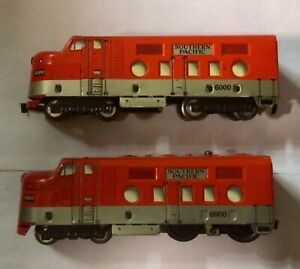 MARX SOUTHERN PACIFIC 6000 LOCOMOTIVE VERY, VERY GOOD CONDITION!!