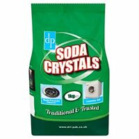 1kg Laundry Washing Soda Crystals Clothes Cleaner Sink Drain Cleaner