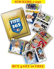 Panini FIFA 365 Season 2019 Single Stickers 1-230 (2018) Buy 4 Get 10 Free