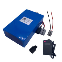EBIKE BATTERY LiFePO4 LITHIUM 12V60AH 10A Charger Rechargeable Solar Power Pack