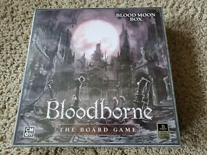Blood Moon Box - Bloodborne Board Game  CMON kickstarter exclusives only IN HAND