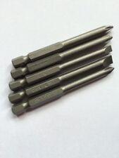 5pc 75mm Power Drill Bit -Flat Phillips & Pozi Makita Dewalt Aeg Impact Driver!!