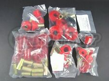 Energy Suspension Hyperflex Bushing Kit Red for 95-98 240SX S14