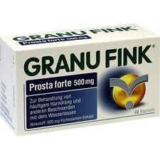 GRANUFINK Prosta forte 500 mg   40 st   PZN10011915