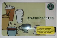 Starbucks 2006 Coffee As Art Uk Card 6052 Series