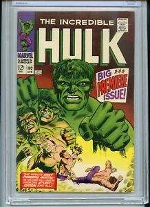 Incredible Hulk #102 CBCS (Like CGC) 9.0 OWTW Pages 1st Issue