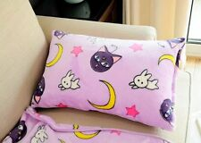 Sailor Moon luna cat fuzzy single pillowcase pillowslips anime pillowslip cute