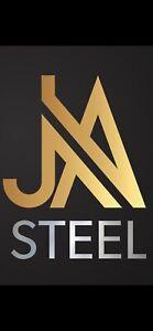 "8"" X 4"" RSJ's STEEL BEAMS  AVAILABLE AT LOW PRICES www.rsjsteelbeams.co.uk"