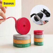 Baseus 0.5/1/2/3m Cable Organizer Wire Winder Clips Holder Mouse Cord Management