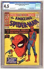 Amazing Spider-Man Annual #2 (CGC 4.5) 1st app. Xandu and Wand of Watoomb C537